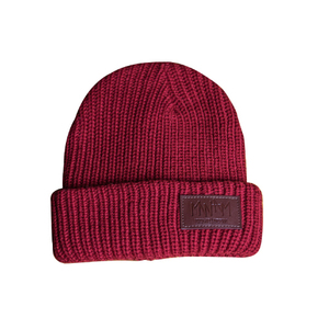 Knit Cap(Burgandy)